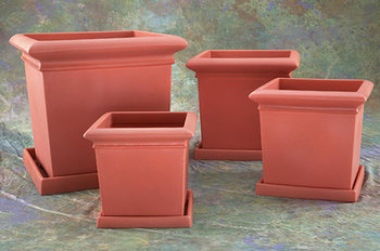 Square Footed Planter